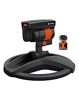 Gardena Oscillating Sprinkler Zoommax with Free Connector