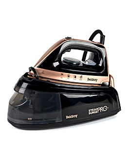 Beldray BEL0775 2400w Steam Surge Pro Rose Gold Steam Generator Iron