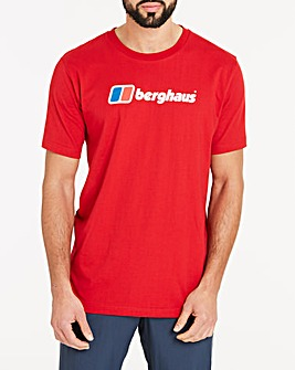 Berghaus Big Corporate Logo Short Sleeve T-Shirt