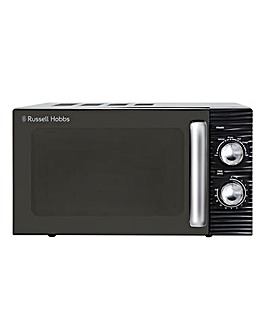 Russell Hobbs RHM1731B 17Litre Inspire Black Compact Manual Microwave