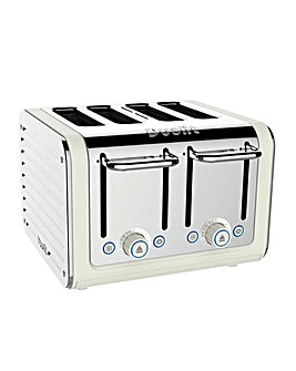 Dualit 46523 Architect Canvas White 4 Slot Toaster