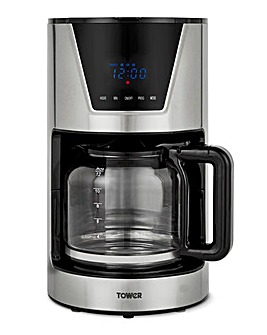 Tower T13010 1.5L Digital Filter Coffee Maker