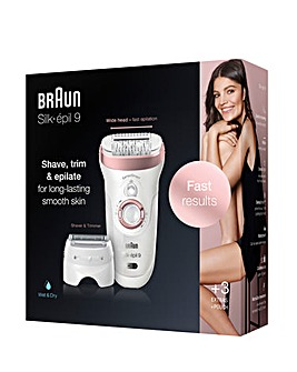 Braun Silk-Epil SE9720 2in1 Epilator