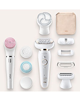 Braun Silk-Epil 9100 Flex Epilator Beauty Set
