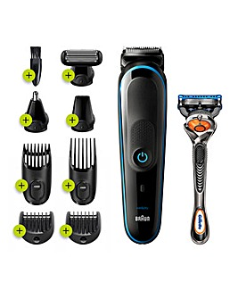 Braun MultiGrooming Kit and Hair Clipper MGK5280 9-in1