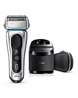 Braun Series 8390cc Wet and Dry Shaver