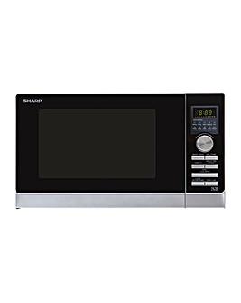 Sharp R843SLM 25L Silver Microwave