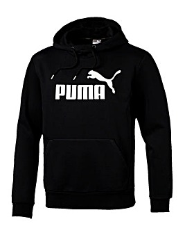 Puma Black Essential O/H Logo Hoodie