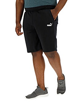 Puma Black Essential Sweat Shorts