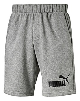 Puma Grey Essential Sweat Shorts