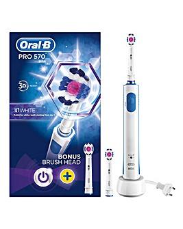Oral-B Pro 570 3DWhite Toothbrush