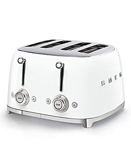 Smeg TSF03 4 Slice White Toaster