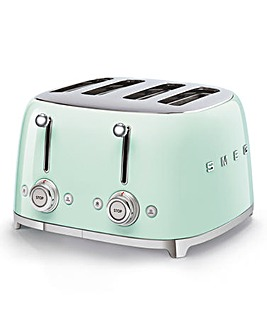 Smeg TSF03 4 Slice Green Toaster