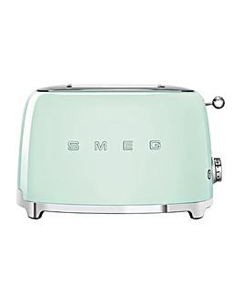 Smeg TSF01 2 Slice Green Toaster