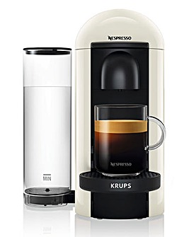 Nespresso XN903140 Vertuo White Capsule Coffee Machine by Krups