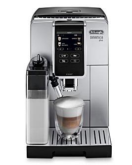 DeLonghi ECAM370.85SB Dinamica Plus Bean to Cup Coffee Machine
