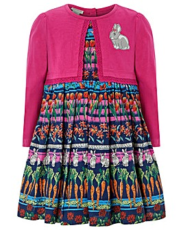 Monsoon Baby Lottie 2 In 1 Dress