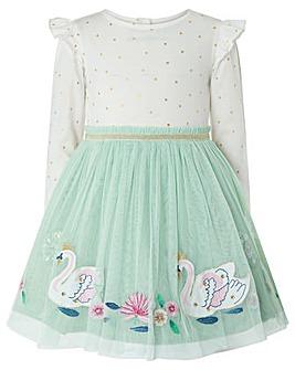 Monsoon Baby Sadie Disco Swan Dress