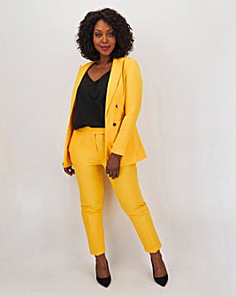 Mix & Match Yellow Edge to Edge Blazer