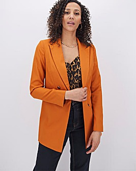 Mix & Match Burnt Orange Fashion Blazer