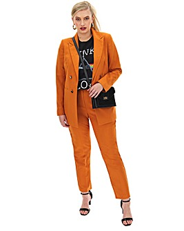 Mix & Match Burnt Orange Fashion Blazer