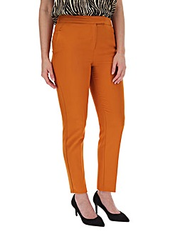 Mix & Match Burnt Orange Tapered Trouser