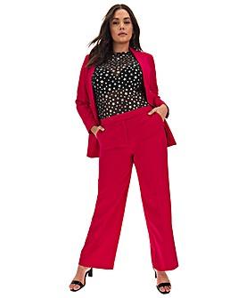 Mix & Match Raspberry Wide Leg Trousers