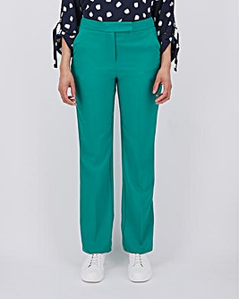 Mix & Match Green Straight Trousers