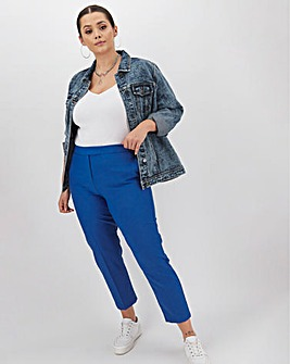 Mix & Match Blue Tapered Trousers