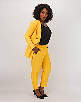 Mix & Match Yellow Tapered Trousers