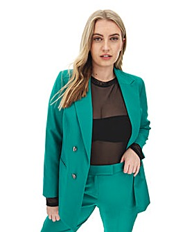 Mix & Match Green Edge to Edge Blazer