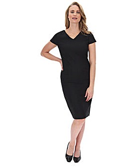 Workwear Shift Dress