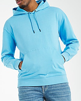 Oversized Drop Shoulder Hoodie Long