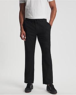 Linen Drawstring Trousers