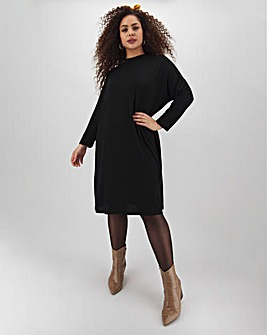 Drop Sleeve T-Shirt Dress