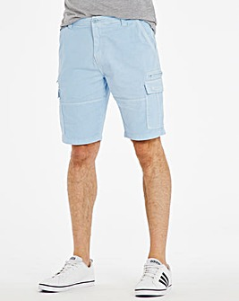 Garment Dyed Cargo Shorts