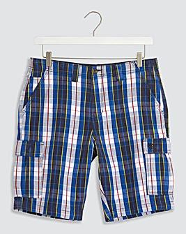 Checked Cargo Shorts