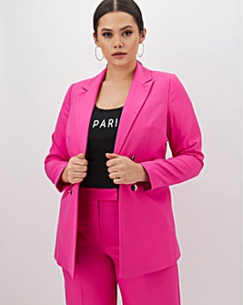Mix & Match Hot Pink Edge to Edge Blazer