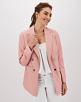 Mix & Match Blush Edge To Edge Blazer