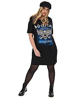 Rockstar T- Shirt Dress