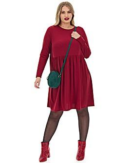 Jersey Smock Dress