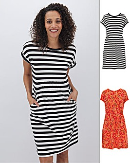 2 Pack T-Shirt Dresses