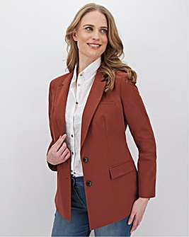 Tailored Nutmeg Blazer