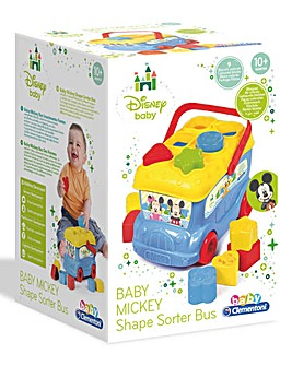 Disney Baby Mickey Shapesorter Bus