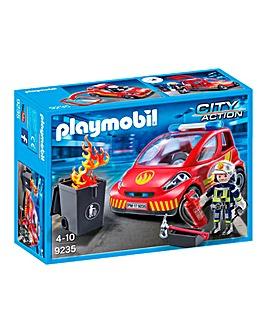 Playmobil City Action Firefighter & Car