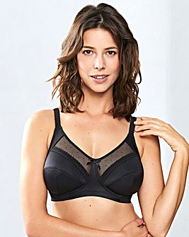 Royce Charlotte Black Support Bra