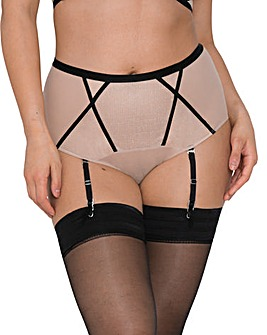 Curvy Kate Sparks Fly High Waist Suspender Brief