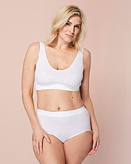 Sloggi Double Comfort White Top