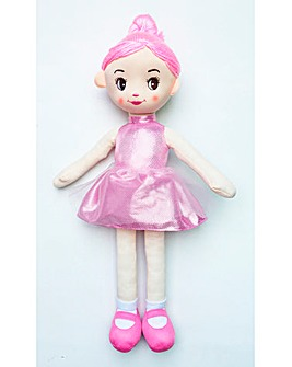 Beautiful Ballerina Rag Doll