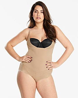 Maidenform Curvy Firm Foundation WYOB Beige Bodyshaper